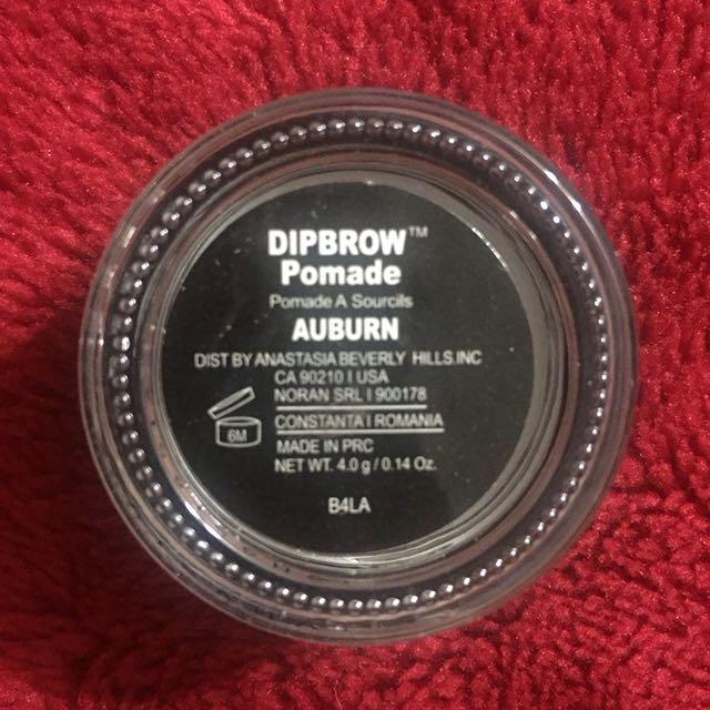 Dipbrow pomade auburn