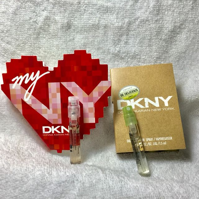 DKNY MYNY 我的紐約 試管香水+青蘋果試管香水