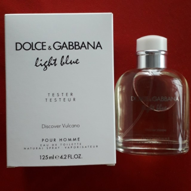 Dolce & Gabbana light blue discover vulcano pour homme edt 125ml ( limited edition)