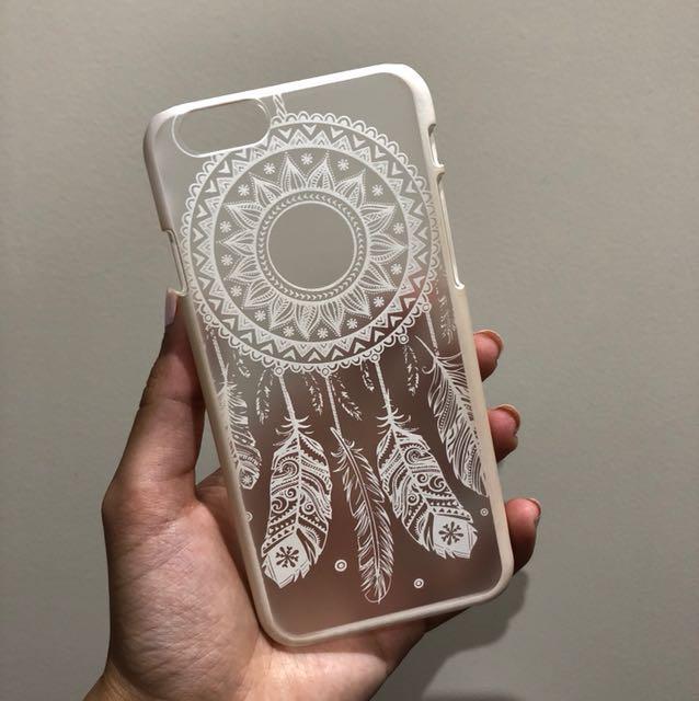 Dream watcher white iPhone case (6/6S)