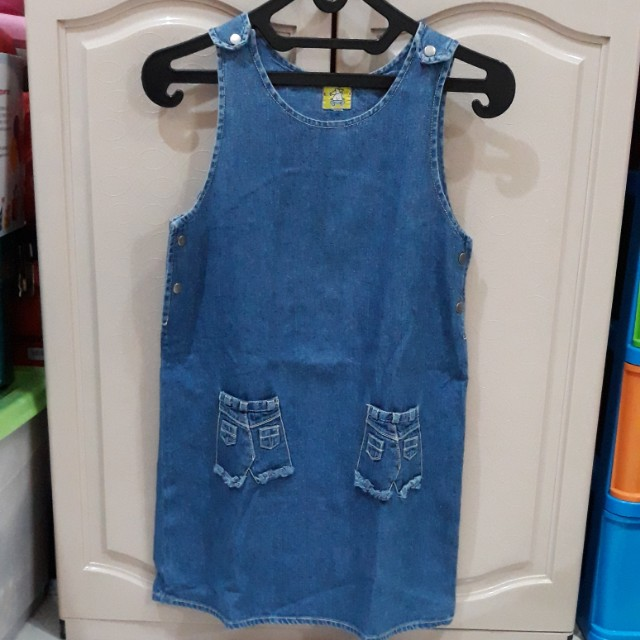 Dresa denim anak