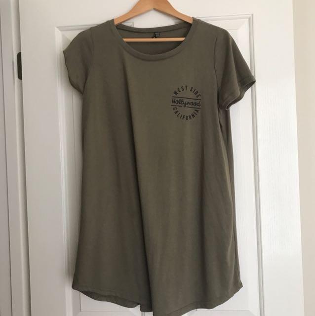 Dress/oversize top