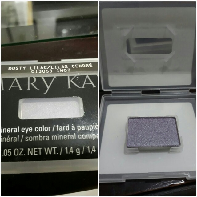 Dusty lilac eyeshadow-marykay