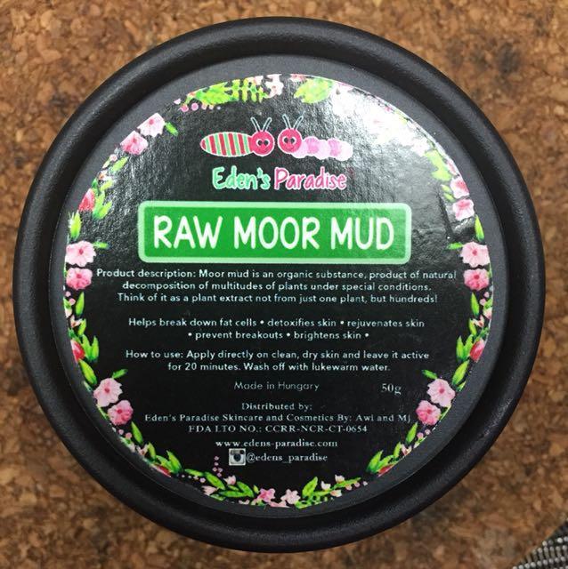Eden's Paradise Raw Moor Mud