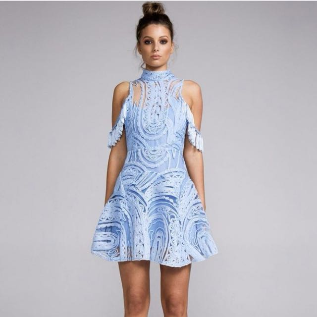 Eliyah The Label Light Blue Dress