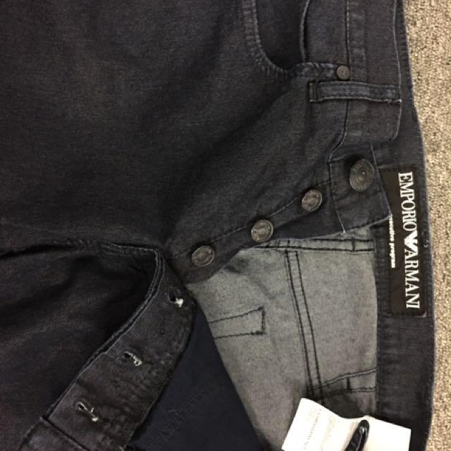 Emporio Armani jeans dark blue