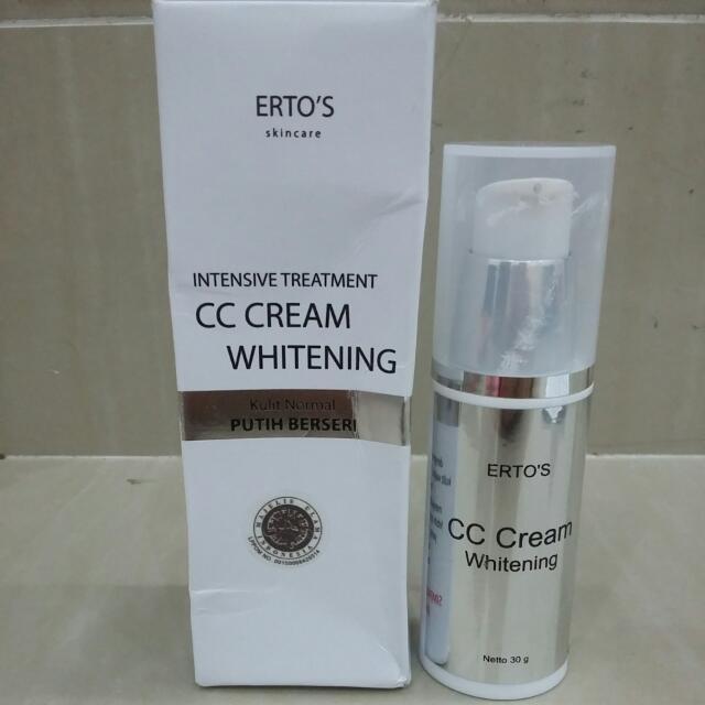 Erto's CC Cream Whitening