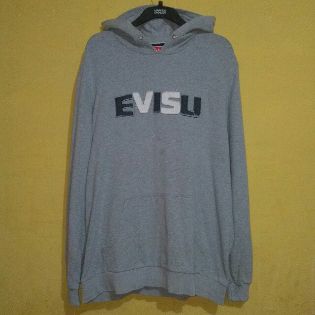 EVISU Original Full Hoodie Size XXL