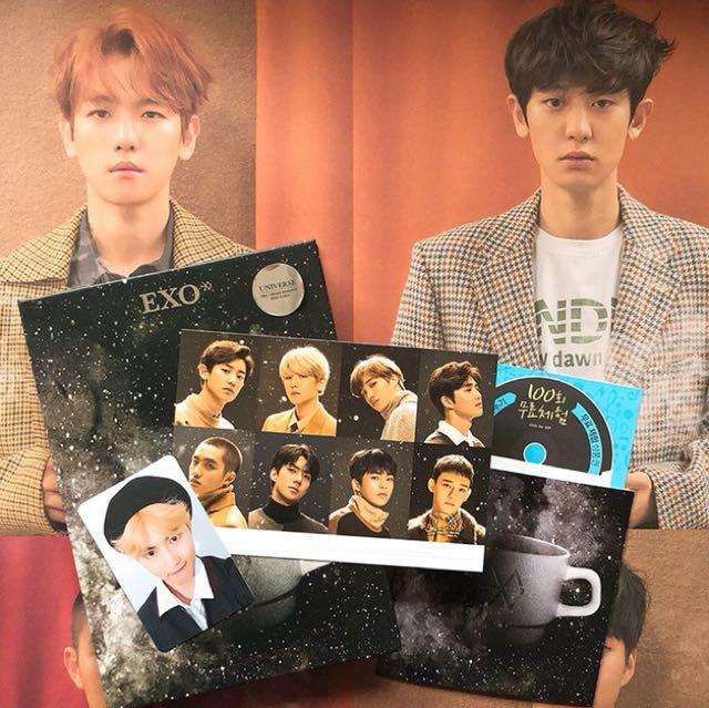 Exo Winter Album Unsealed Ready-stock
