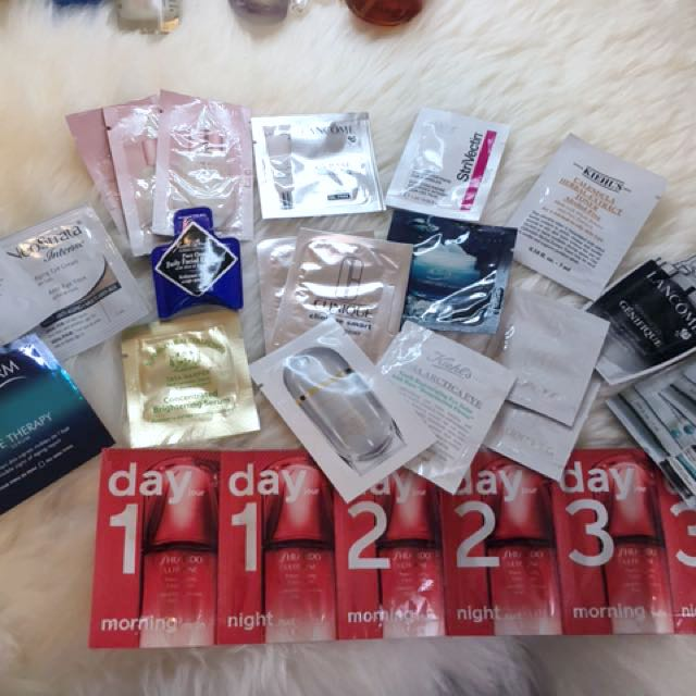 Face sample pack