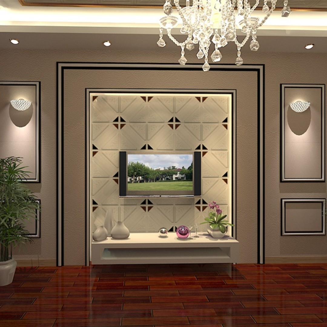 FEATURE WALL DECORATION SELF ADHESIVE 3D WALL PANEL 0652