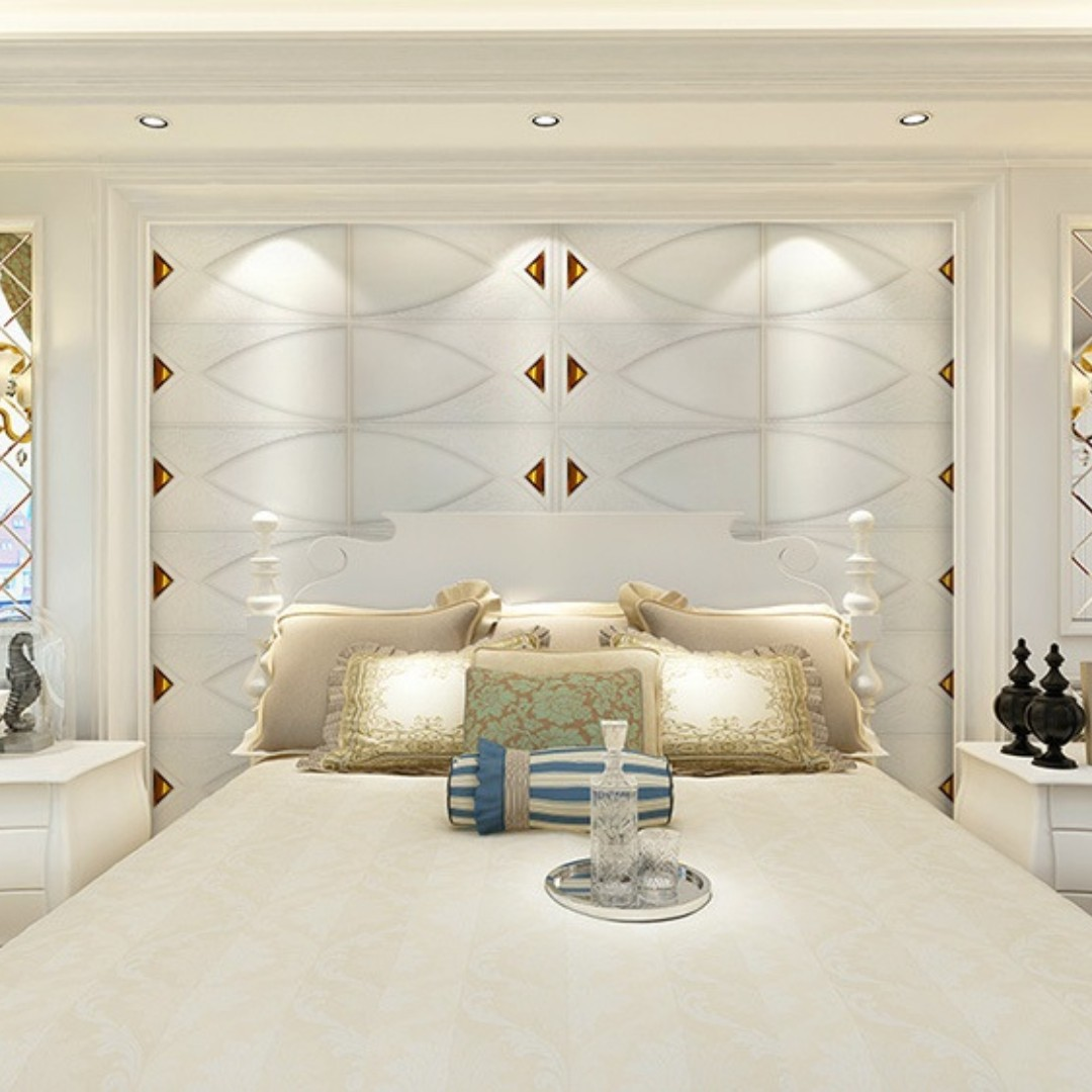 FEATURE WALL DECORATION SELF ADHESIVE 3D WALL PANEL 0653