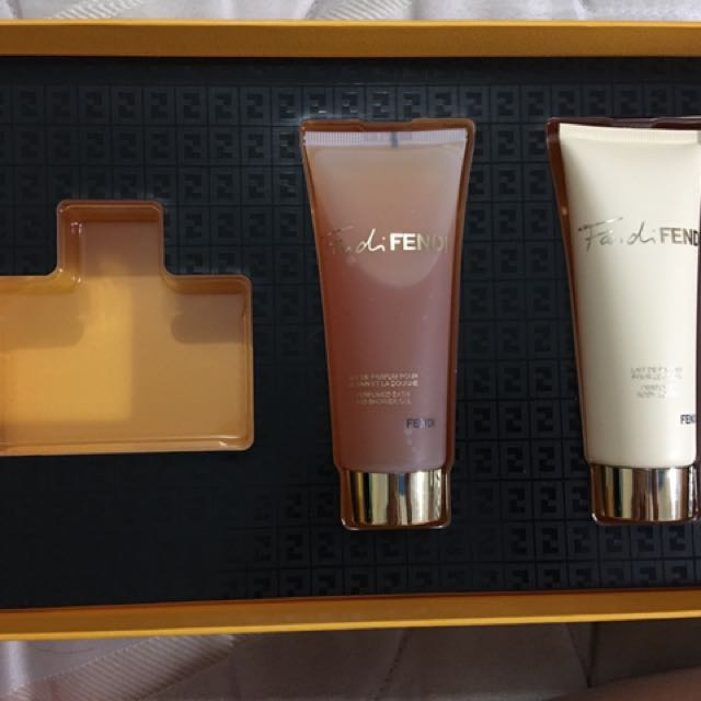 Fenty body lotion and shower gel
