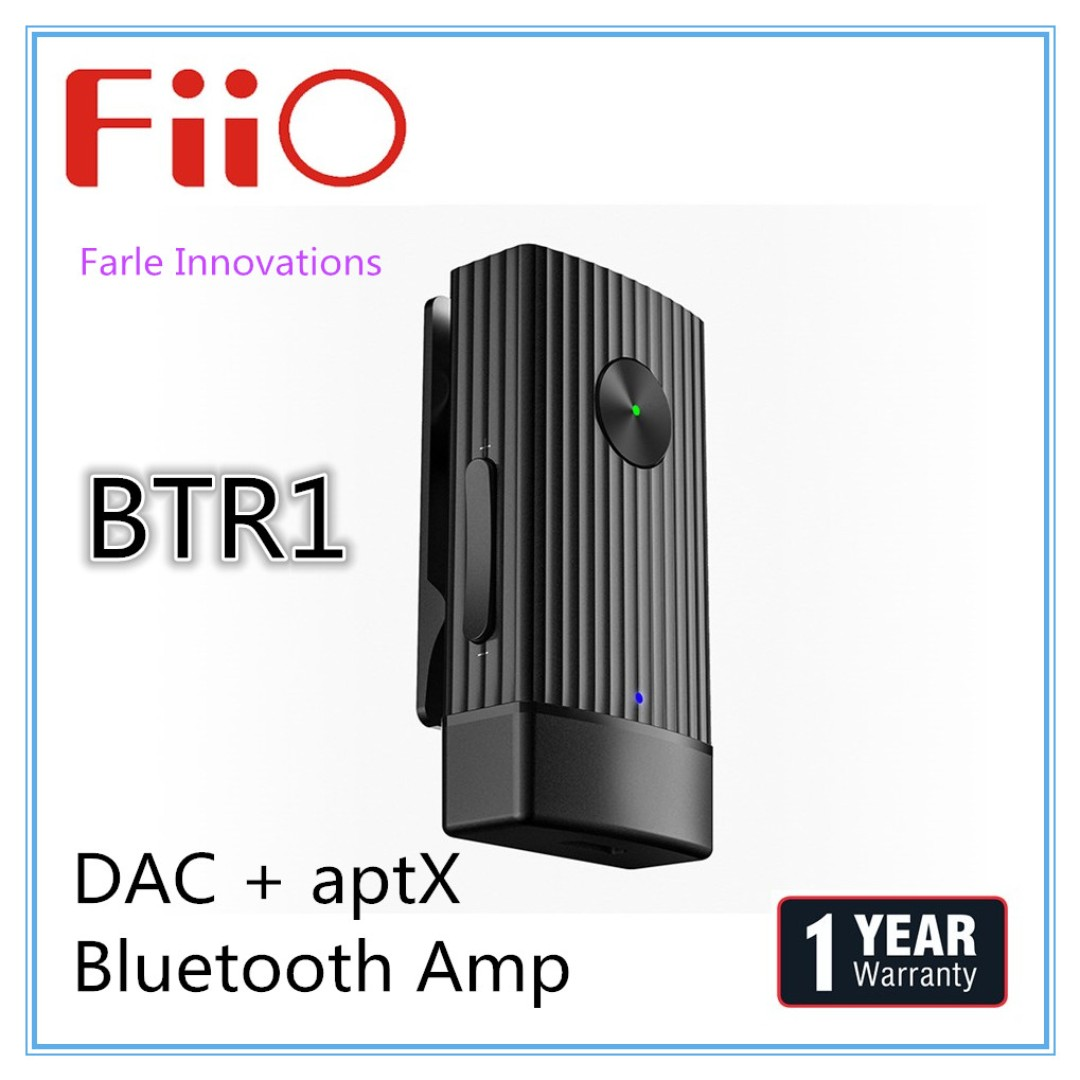 Fiio Btr1 Wireless Bluetooth Portable Headphone Amplifier Dac Xduoo Xd 05 Amp Electronics Audio On Carousell