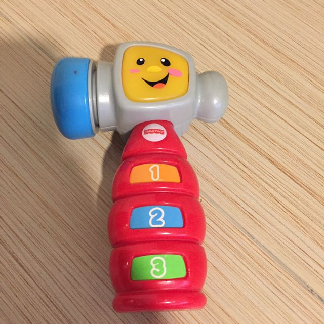 Fisher Price tap and learn hammer