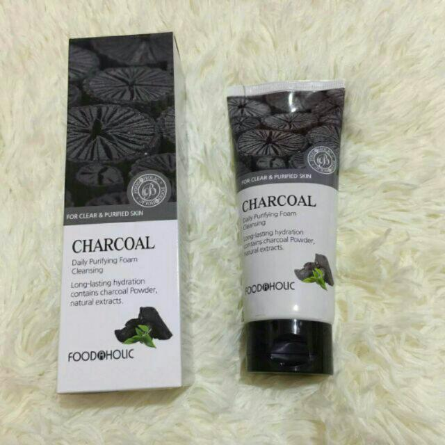 Foodaholic Charcoal Daily Purifying Foam Cleanser
