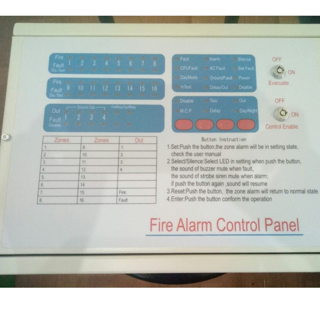 GoalStar Fire Alarm Control Panel 8zone, Everything Else, Looking ...