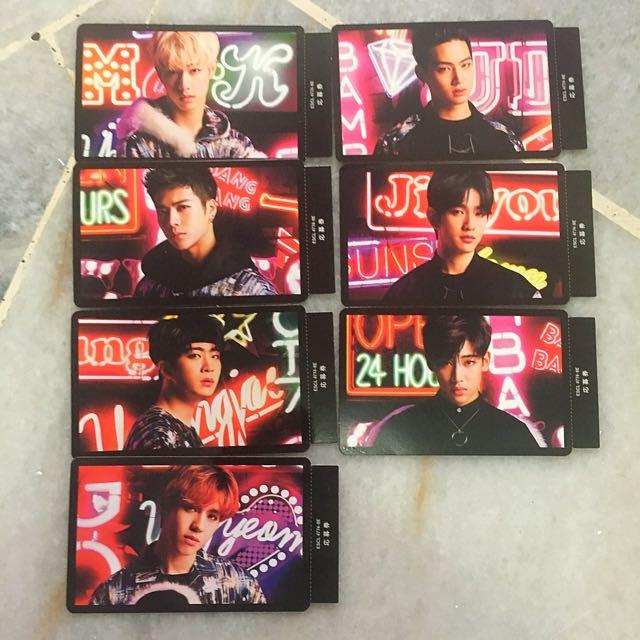 Got7 Hey Yah Japan Press photocard