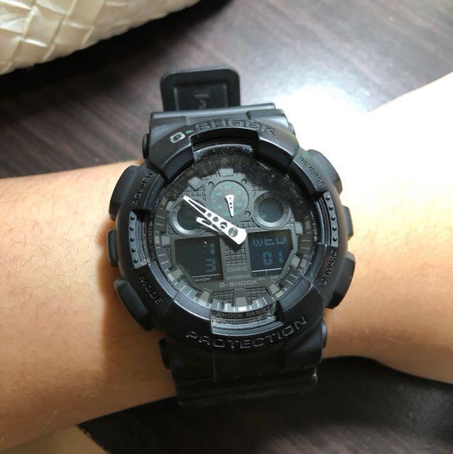 Gshock手錶 GA-100MB-1A(保留中)