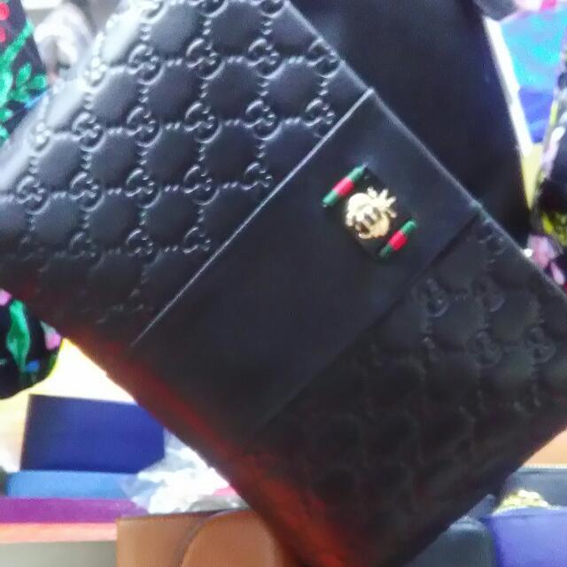Gucci pouch bag big