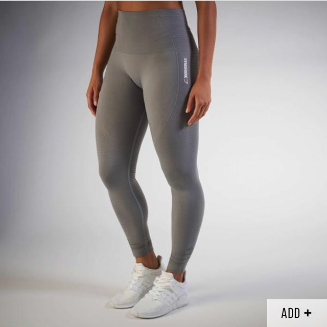 Gymshark seamless leggings - grey