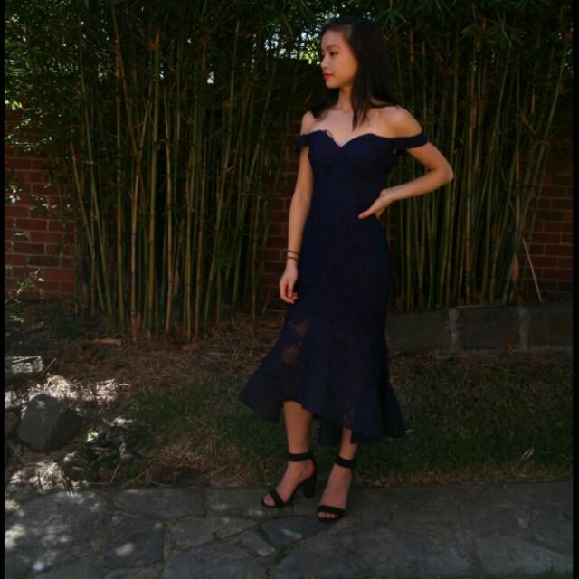 HIRE Bariano Dress Size 6