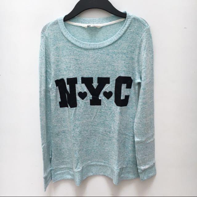 H&M knit wear NYC