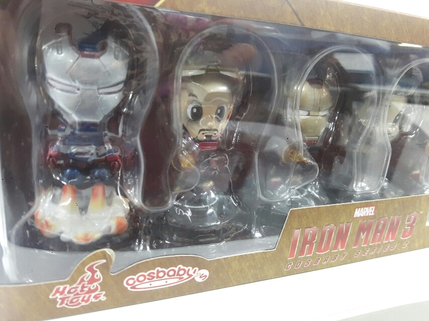 Hot toys Ironman 3 Cosbabys Set of 6