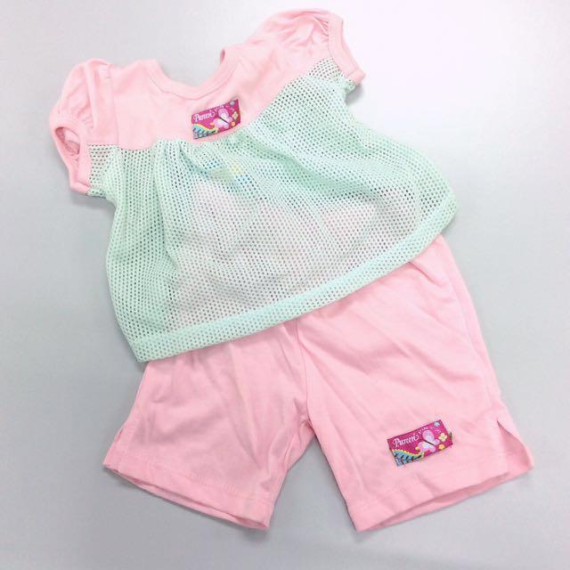 [INC POS BNWT - Pureen] Matching Set - Top and Bottom for Babies.