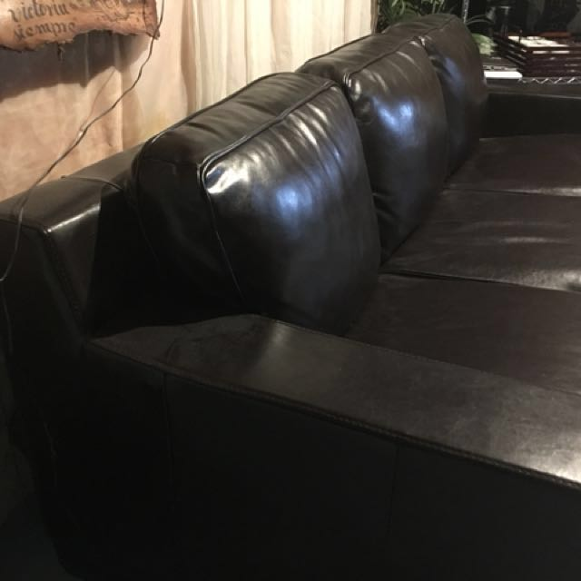 Italian leather couch(3 piece + 2 piece)