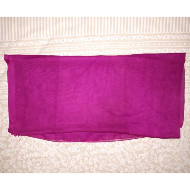 Jilbab segi4 ungu burgundy polos