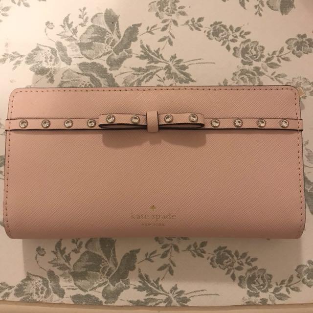 Kate Spade Baby Pink Wallet