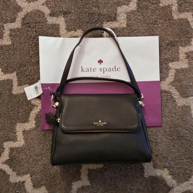 Kate Spade Black Two Way Sling Bag