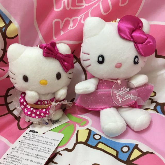 全新日本環球影城限定kitty 玩偶吊飾