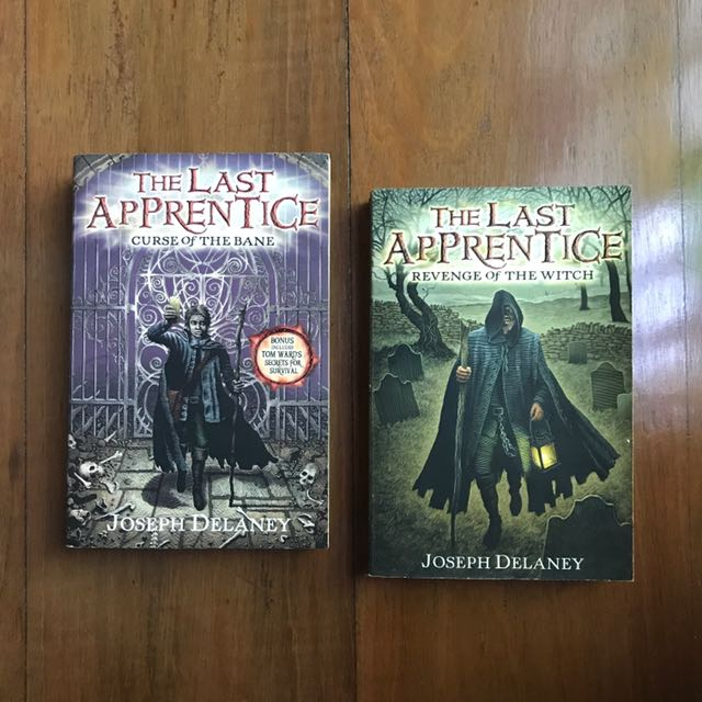 Last Apprentice books