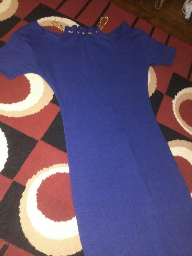 Less Shoulder Dress