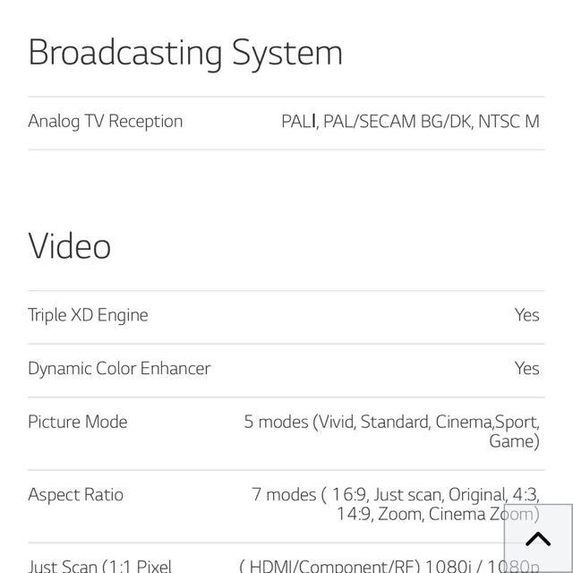 LG 39 LN5100 TV