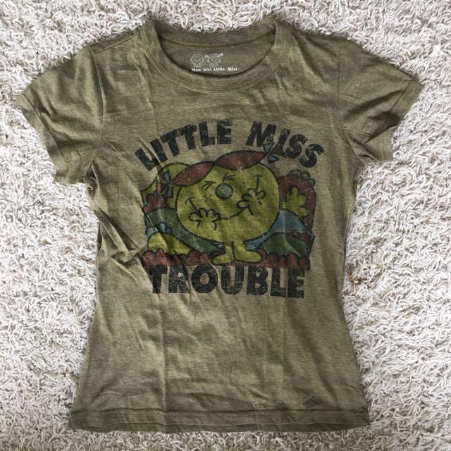 Little Miss Trouble Women's Tshirt