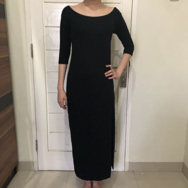 Long black drees