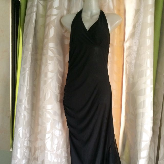 Long Black Dress