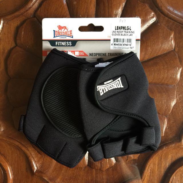 Lonsdale Neoprene Training Gloves