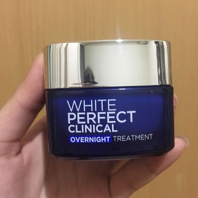 L'Oreal Paris White Perfect Overnight Treatment
