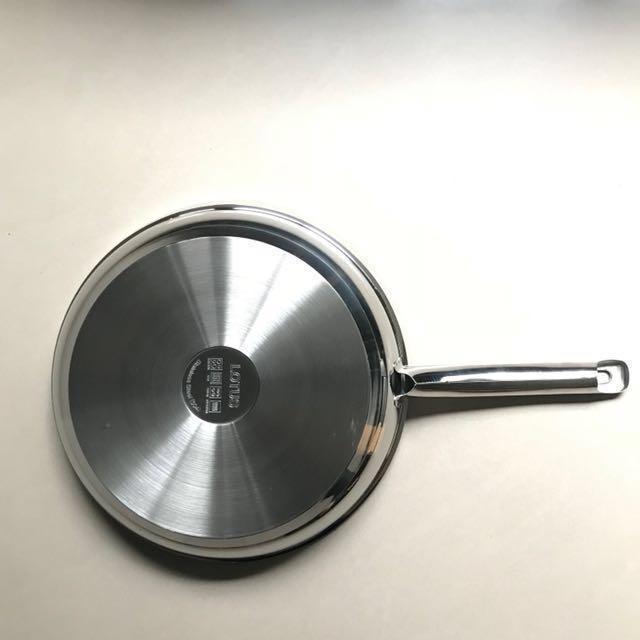 LOTUS 樂德鍋 新金鑽平底鍋28CM 原裝德國知名廚具