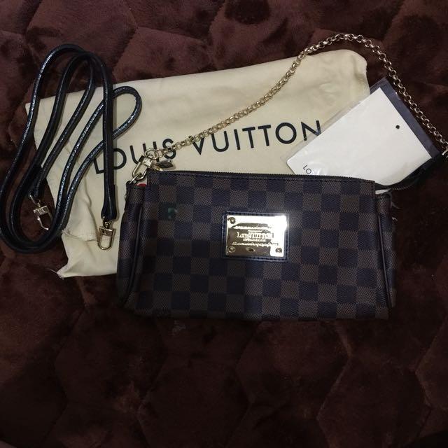 Louis Vuitton Eva Clutch Bag