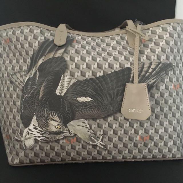 Loup Noir Eagle Tote Bag