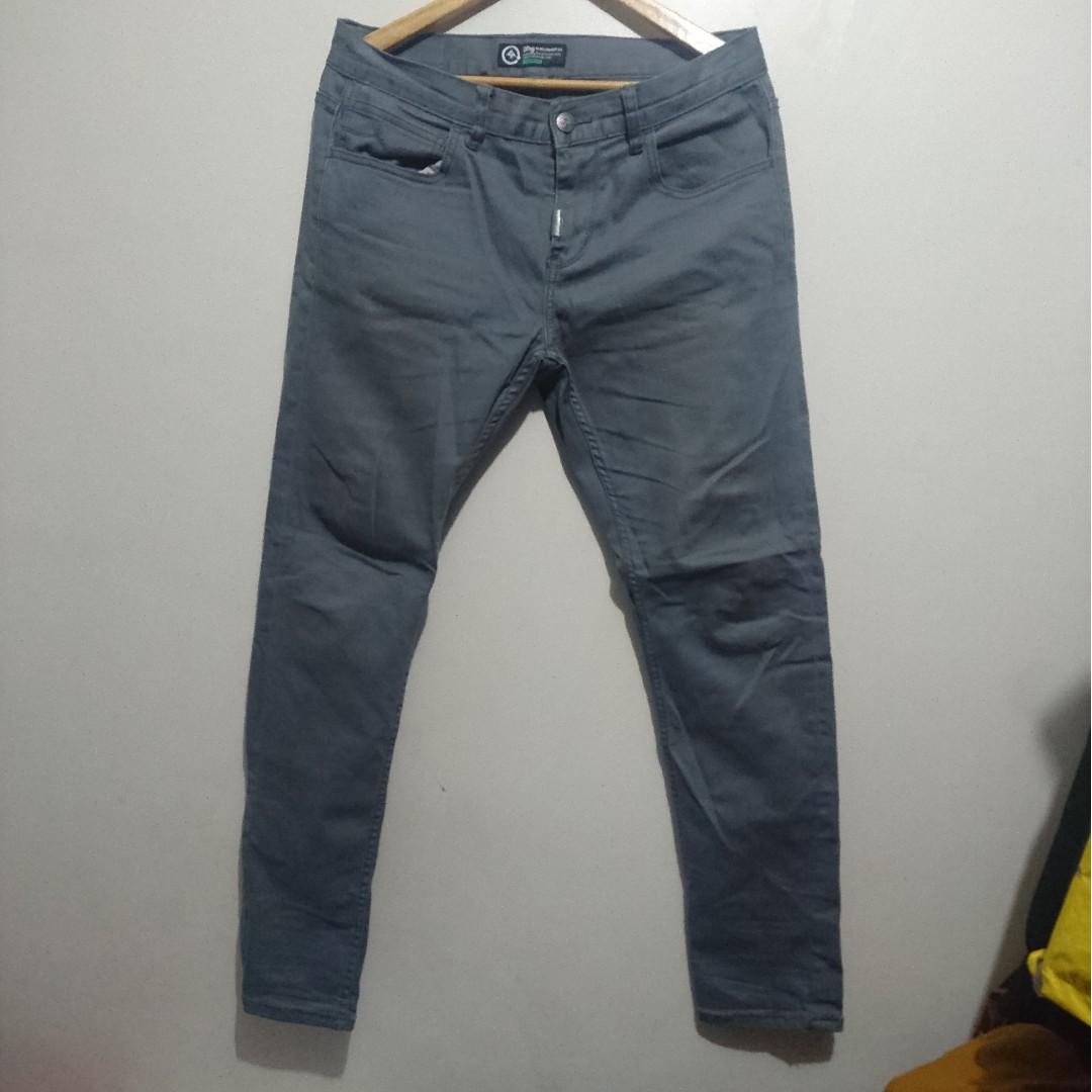 LRG Slim Straight Grey Jeans