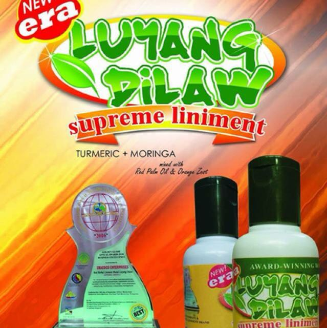 luyang dilaw supreme liniment