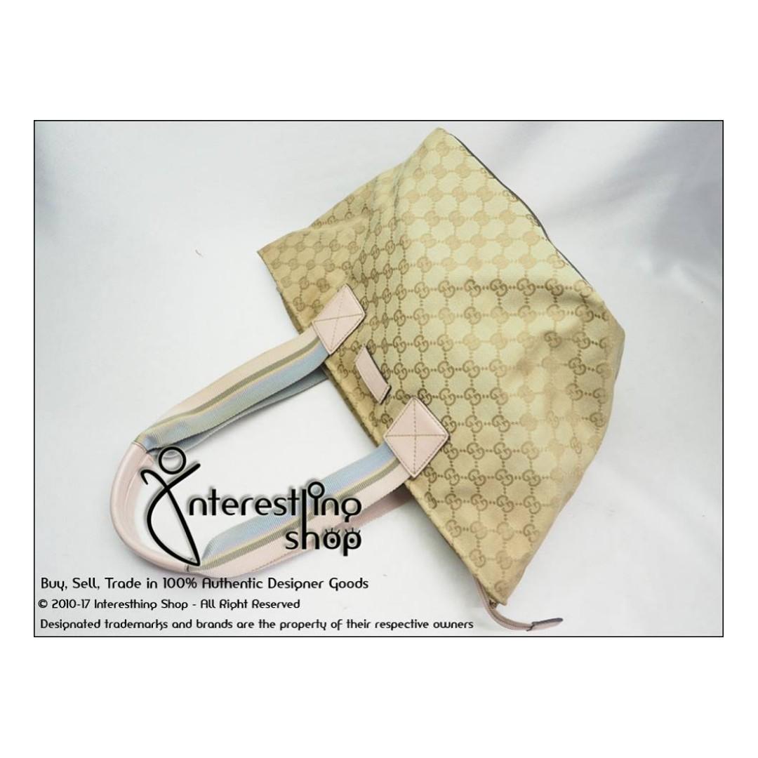 131230 sold* - # 4623-05. authentic gucci monogram dumpling bag
