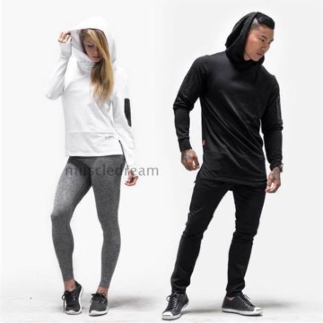 LVFT Gym Long Sleeves Hooded Sweater