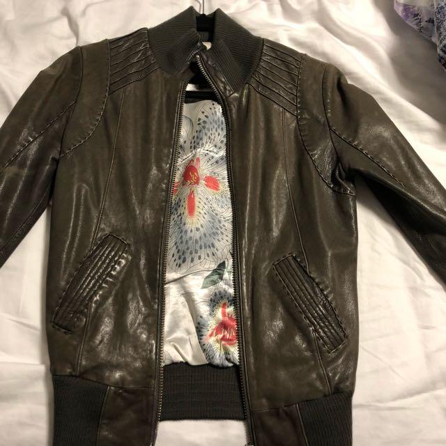 MACKAGE ARITZIA leather jacket